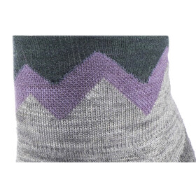 Smartwool PhD Pro Approach Light Elite Mini Socks Women Light Gray